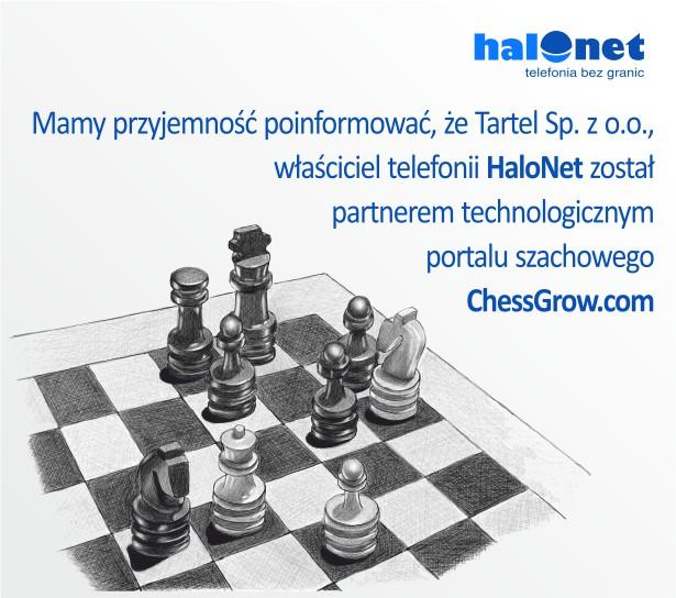 Tartel partnerem ChessGrow.com