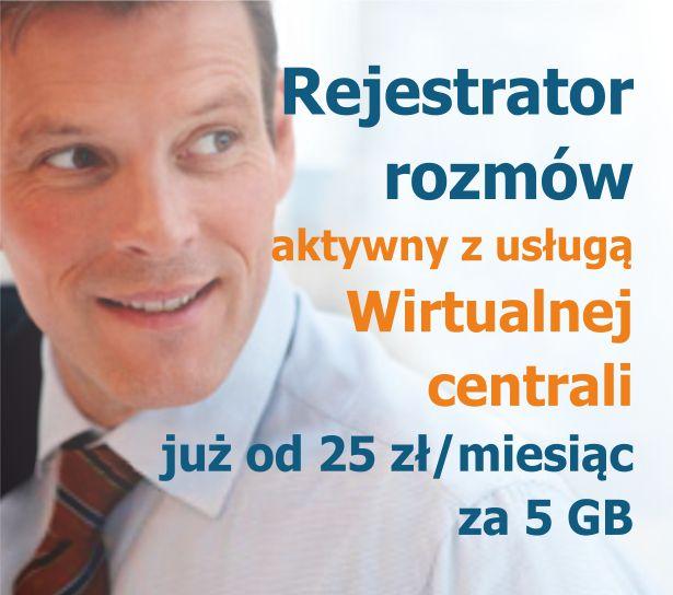 Rejestrator rozmów - Włącz nagrywanie rozmów już za 25 zł netto na miesiąc!