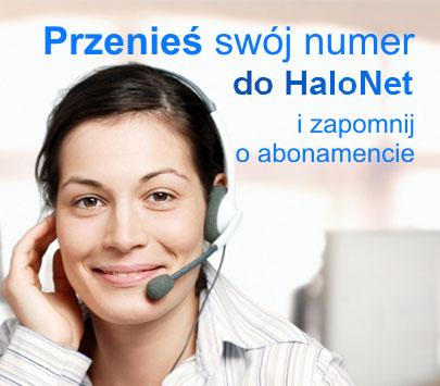 Przenieś numer do HaloNet - Zapłacisz tylko 1 zł na rok!