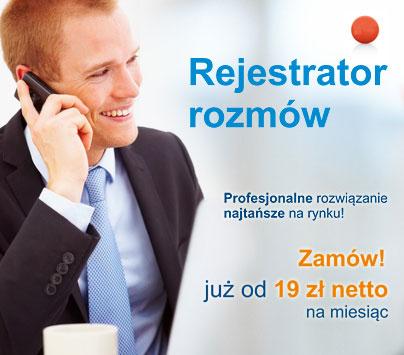 Rejestrator rozmów - Włącz nagrywanie rozmów już za 19 zł netto na miesiąc!